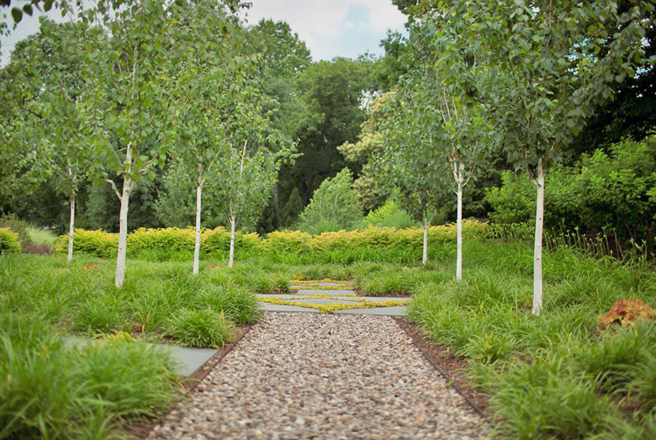 The LaurelRock Company - Residential Landscaping in CT - Green Farms - Pathway