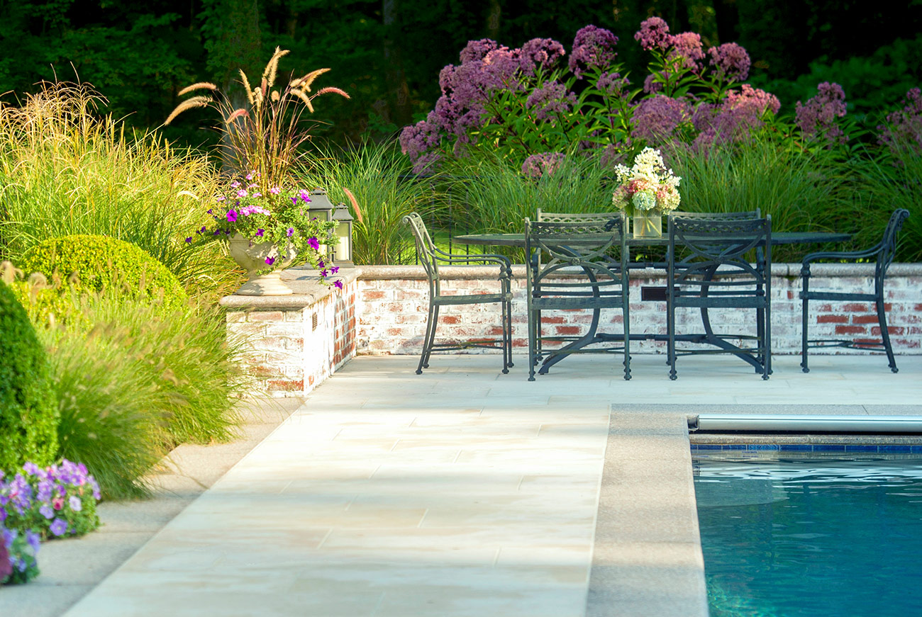 The LaurelRock Company - Residential Landscaping in CT - Back Country Manor - Outdoor Living and Pool