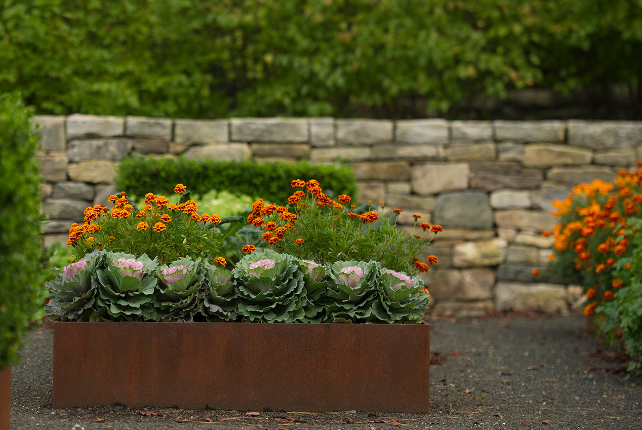 The LaurelRock Company - Residential Landscaping in Wilton CT - High Meadow Farm - Edible Garden
