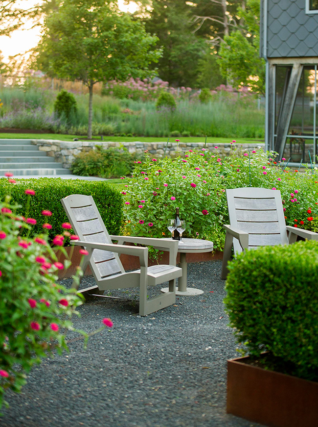 The LaurelRock Company - Residential Landscaping in Wilton CT - High Meadow Farm - Outdoor Living