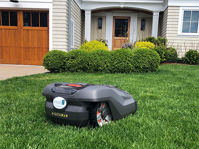 battery-powered mower